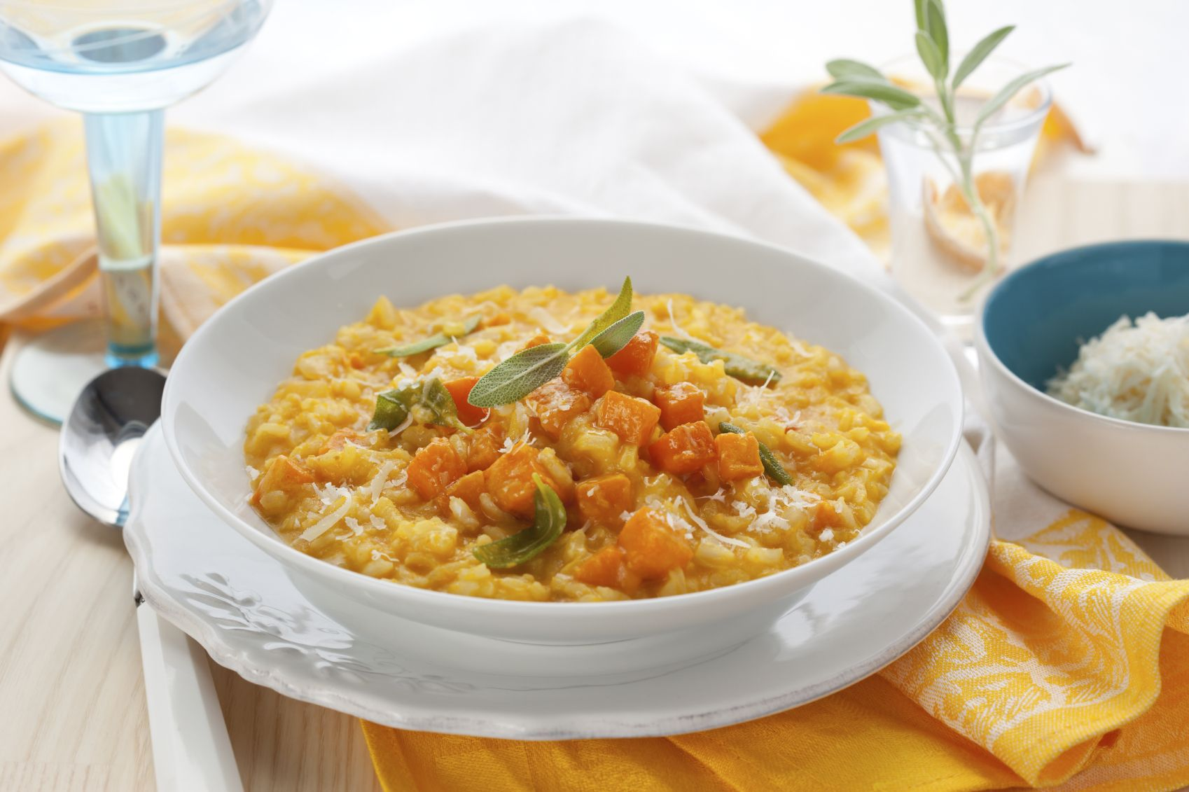 Cucina Antica Sauce Pumpkin Risotto Made With Cucina Antica Tuscany Pumpkin Sauce