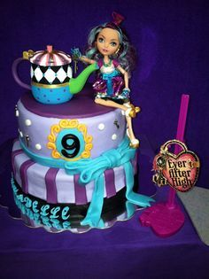 Ever After High Birthday Cake Google Search