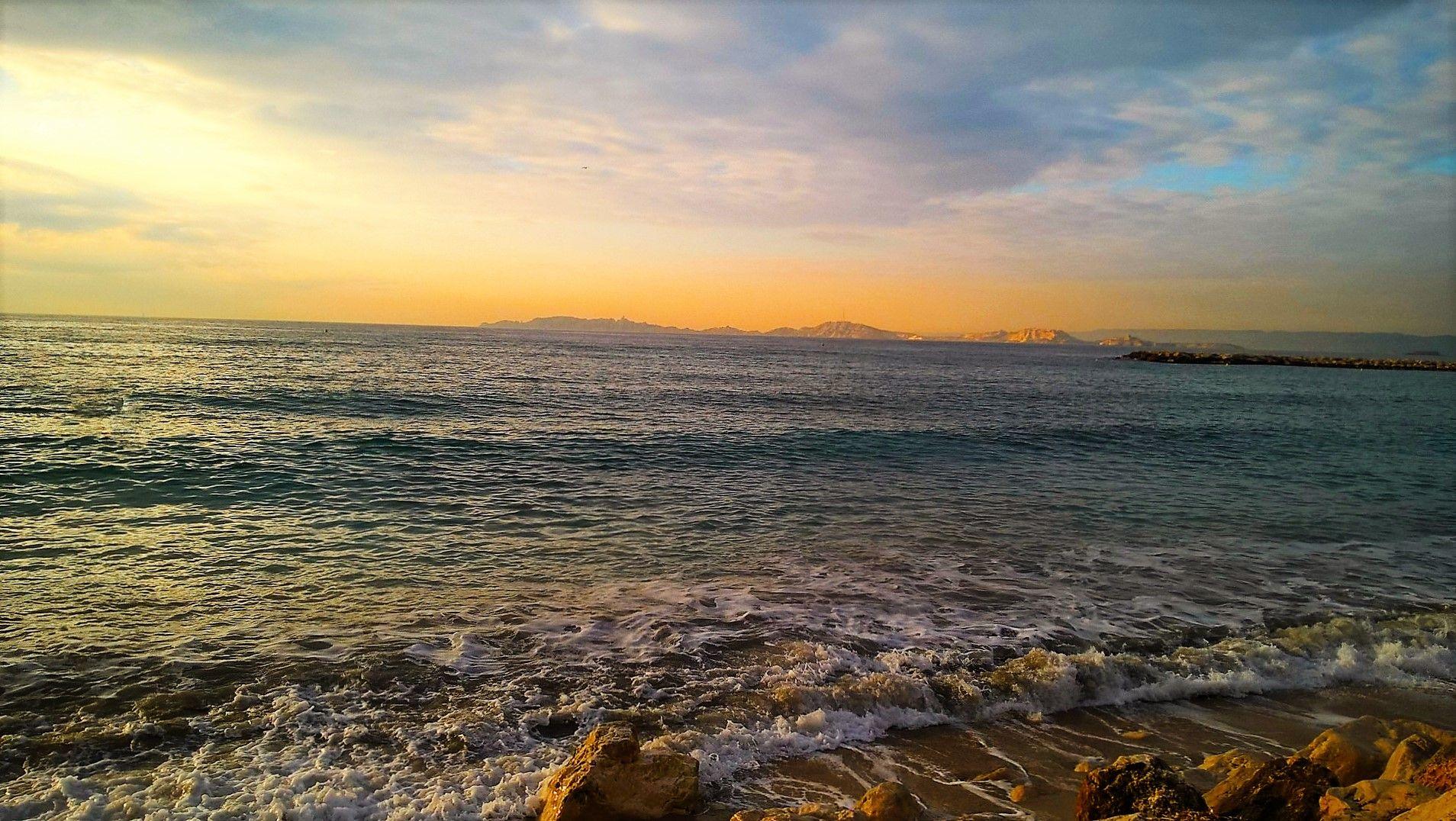 Marseille balade jusqu'à la plage
