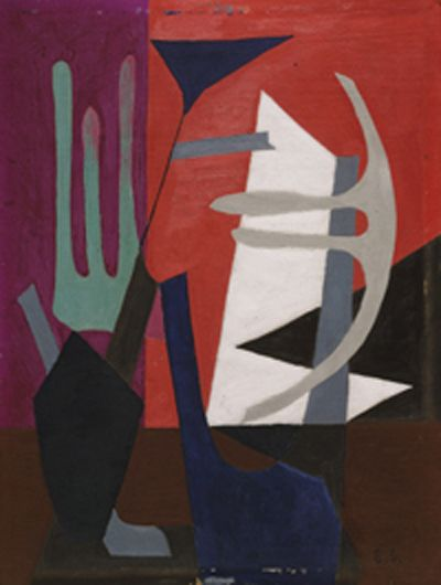 'Composition' (1940) by Esphyr Slobodkina