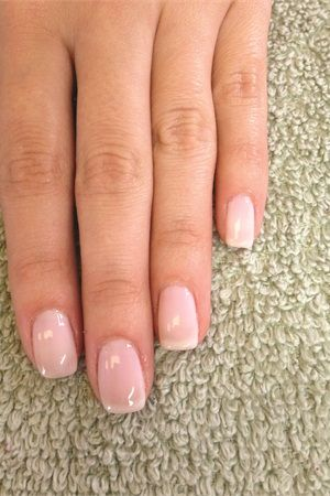 Shellac Romantique My Wedding Day Nails Au Natural All The Way