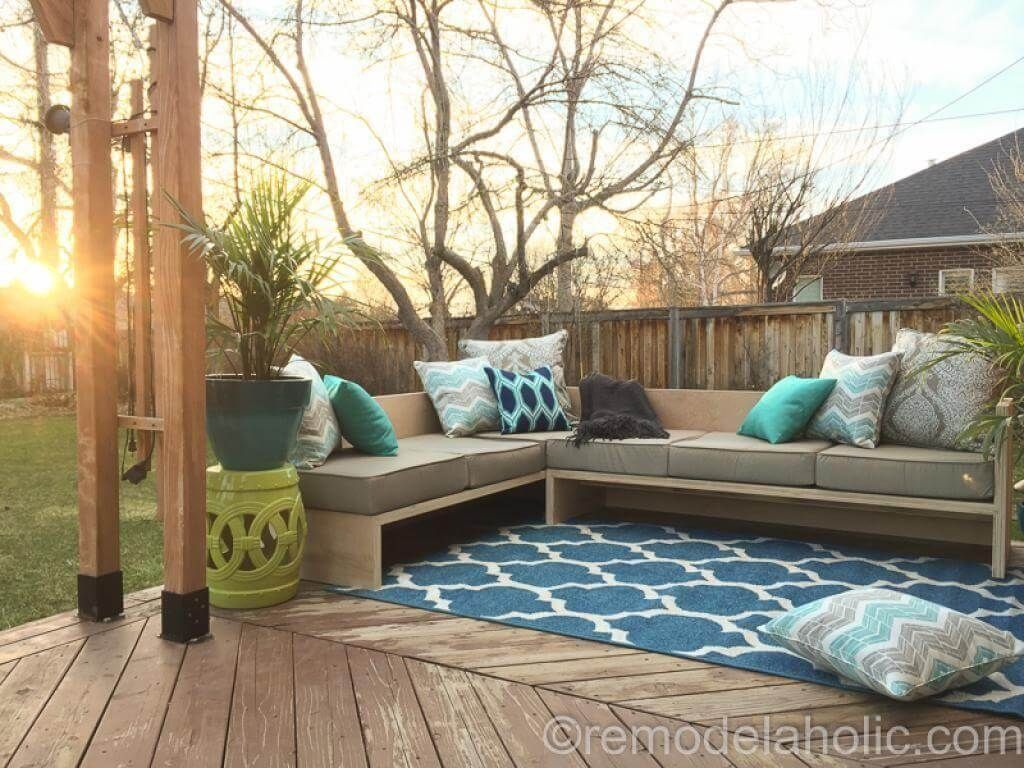diy outdoor furniture projects to beautify your outdoor space