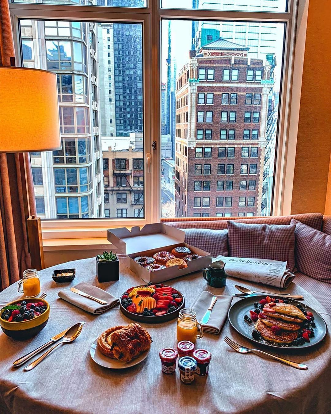 Image May Contain People Sitting Table Indoor And Food Breakfast In Bed Breakfast Tea Luxury Food
