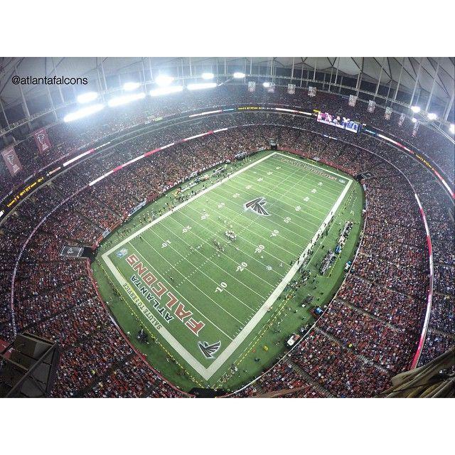 Check Out That View Riseup Atlanta Falcons Football Atlanta Falcons