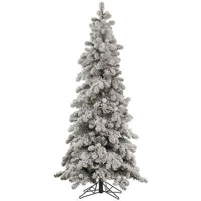 Artificial Christmas Trees 117414 Vickerman Flocked Kodiak 8 White