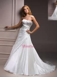 posh wedding dress