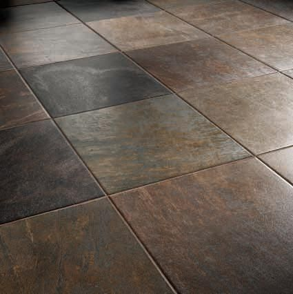 Thrift Brown And Grey Ceramic Tile And Brown Floor Tiles What Colour Grout