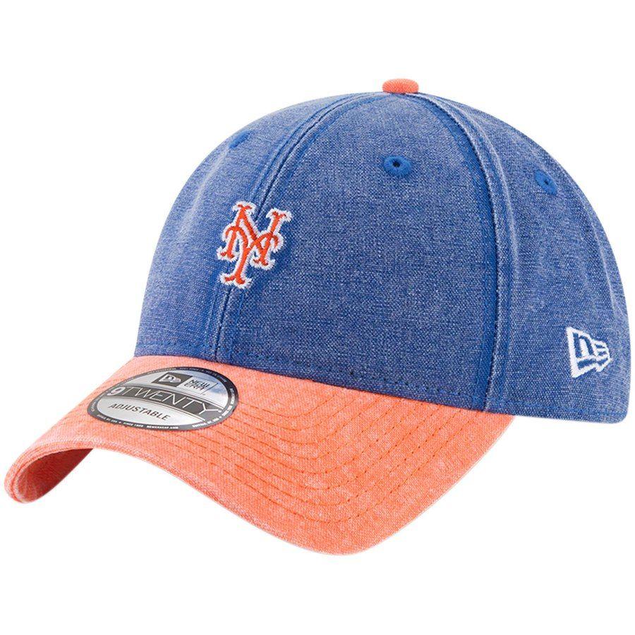 21576dd3f5a28 Men s New York Mets New Era Royal Rugged 9TWENTY Adjustable Hat ...