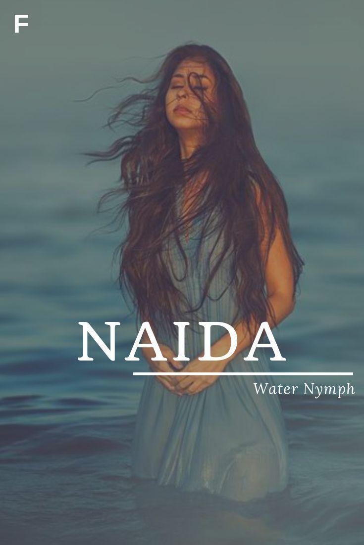 Naida, som betyr vannnymfe, greske navn, jentenavn - Baby Showers Naida, meani...