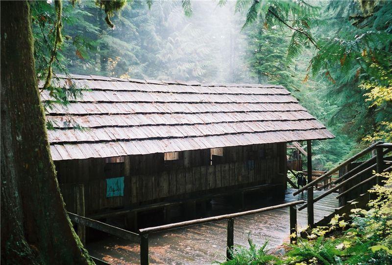Hike to Bagby Hot Springs, Bagby Hot Springs