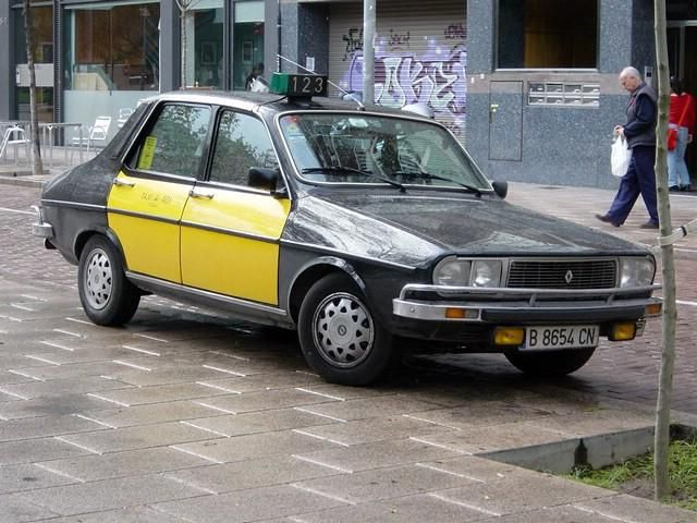 Renault 12 Taxi Barcelona | Coches clásicos, Autos deportivos ...