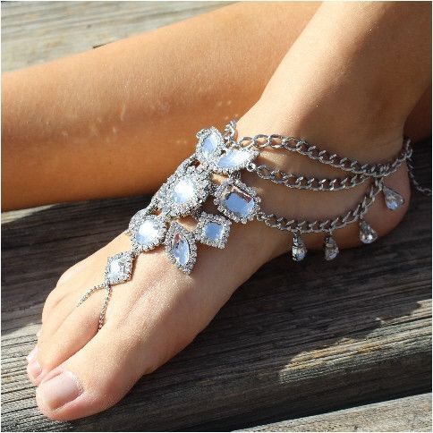 GYPSY SOLE barefoot sandals antique silver Barefoot Sole and