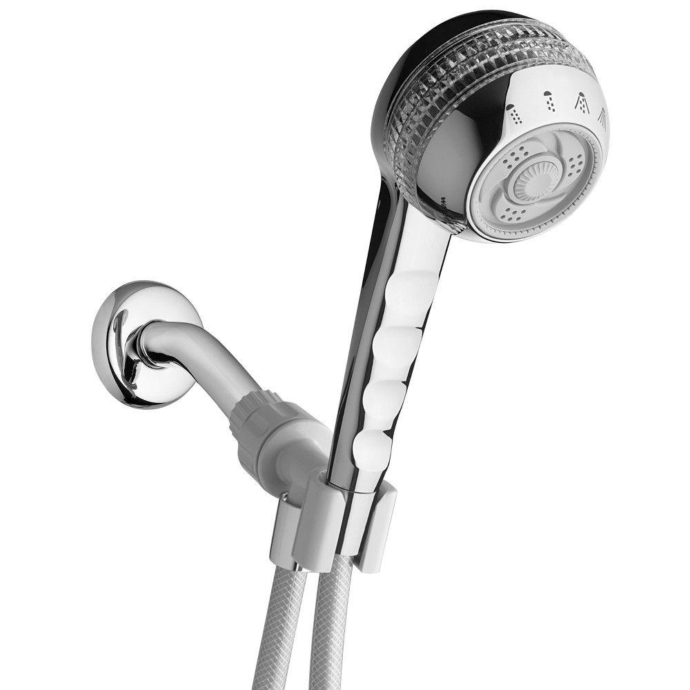 Original Shower Massage Hand Held Single Shower Chrome Grey