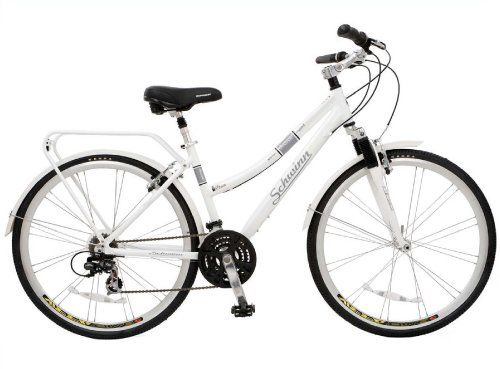 Schwinn Discover Women S Hybrid Bike 700c Wheels White 28