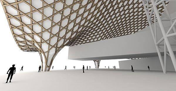 Centre Pompidou Metz Interior Architecture