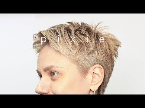 ️ SHORT PIXIE HAIRCUT . fast & easy tutorial