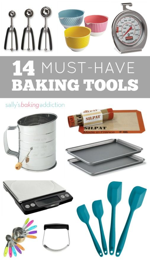 Kitchen Tools List 14 kitchen tools every baker needs | kitchens, kitchen gadgets and