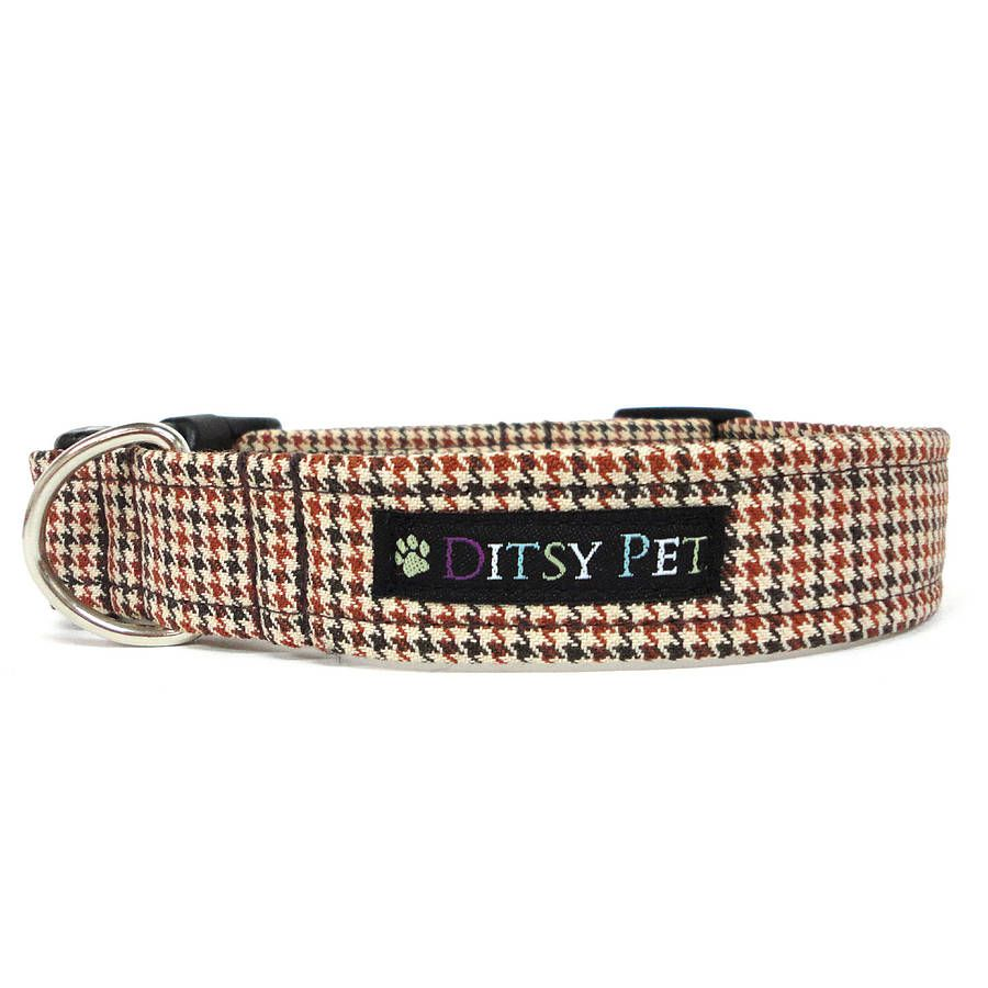 29633995c30b cavendish tweed dog collar by ditsy pet | notonthehighstreet.com | 4 ...