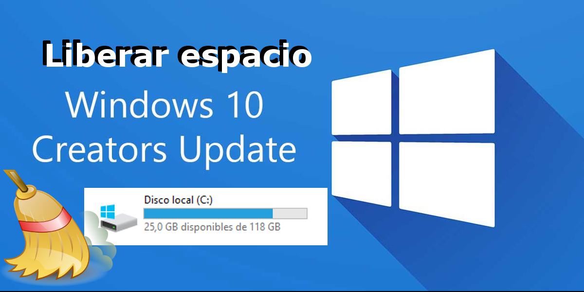 Si Tras Actualizar A Windows 10 Creators El Espacio Libre De Tu Disco Duro A Disminuido Aquí Tienes Como Recupera Windows 10 Como Liberar Espacio Disco Duro