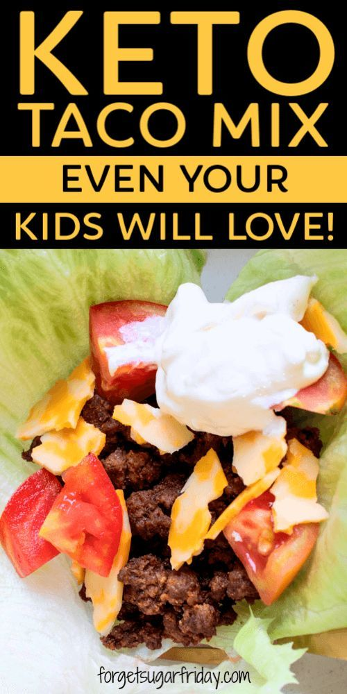 If you love tacos, you're going to want to try this! This super duper easy Keto Taco Seasoning (Keto Taco Mix) is a breeze to make, so you'll be on your way to making keto tacos in no time. Even your kids will love them! Taco seasoning packets are loaded with carbs and fillers, but this easy taco seasoning recipe contains only 3g net carbs per serving (and each serving seasons an entire pound of meat!). Great for a keto dinner or low carb dinner. #maketacoseasoning