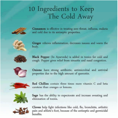 Prevent cold - Voorkom verkoudheid