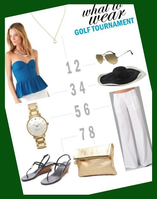 What to Wear: Golf Tournament Looks for Women | Golf ...