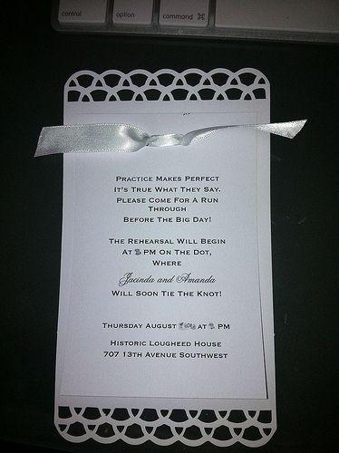 cute wording for rehearsal dinner invites dream wedding