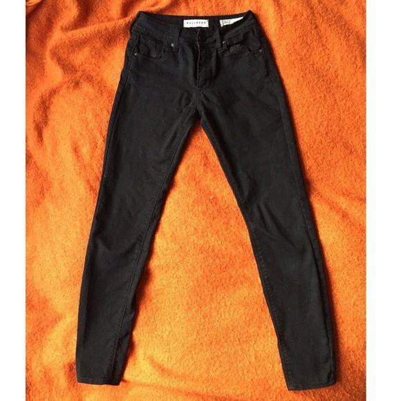 Bullhead black jeggings size 0 Gently used bullhead/pacsun black jeggings size 0 PacSun Jeans Skinny
