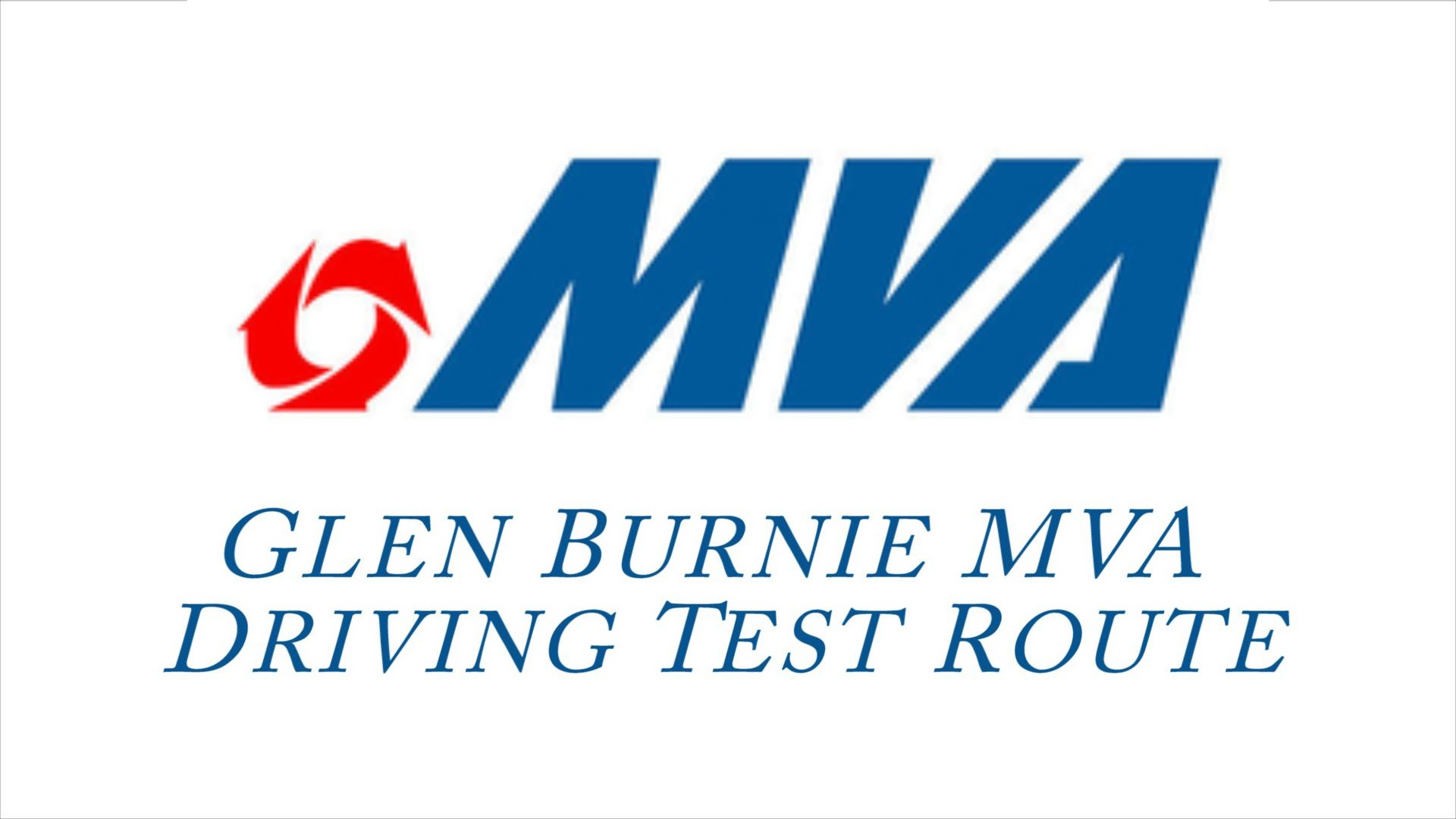 Pin on Maryland Driving Test Routes