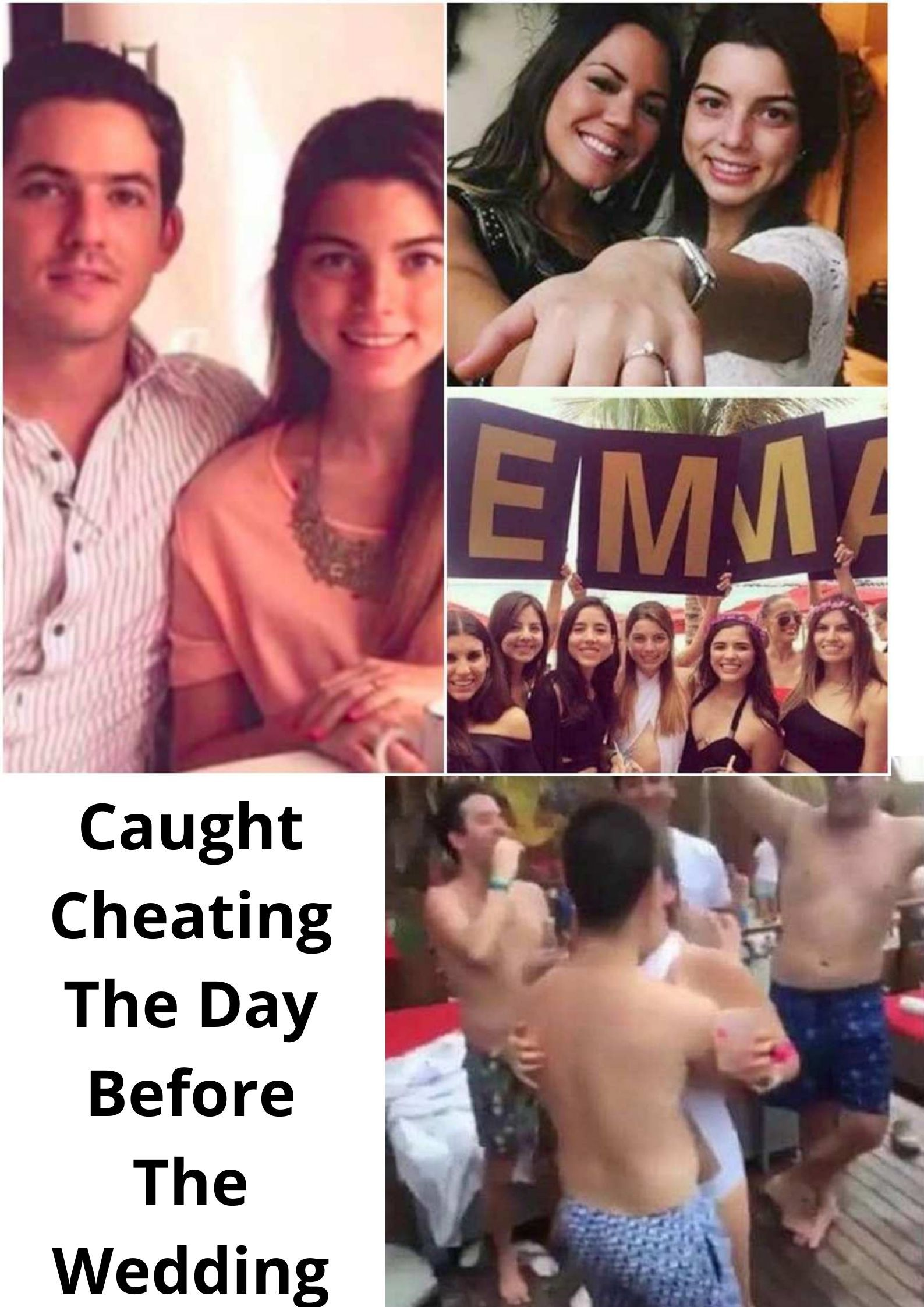 Caught Cheating The Day Before The Wedding In 2020 Caught Cheating Cheating Funny Text Messages