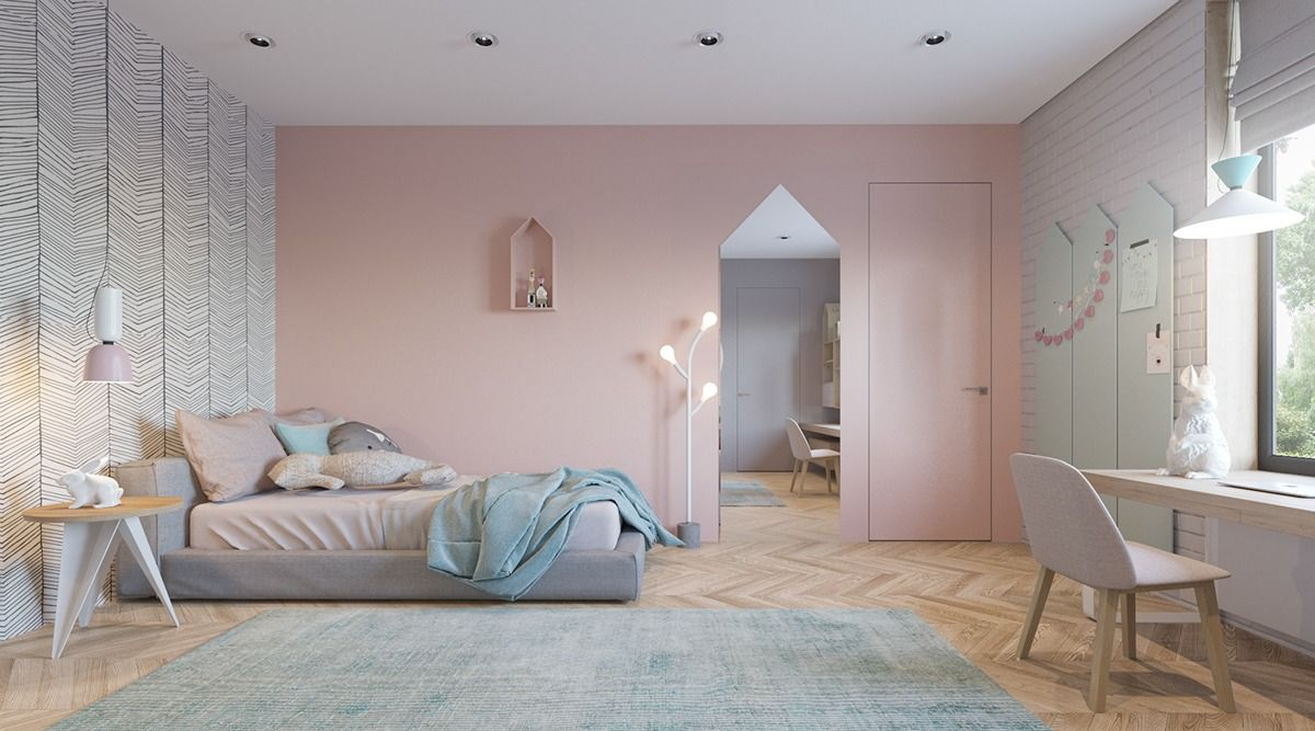 Super Stylish Kids Room Designs Mit Nordiske Teen Vaerlse