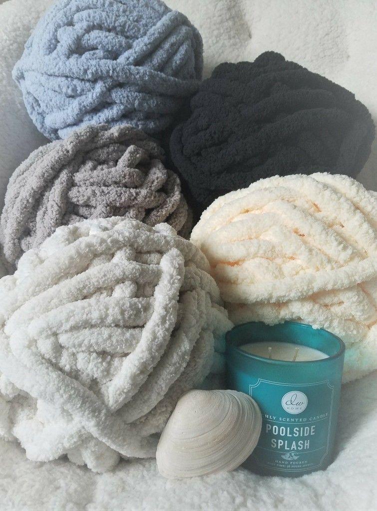 Chunky knit vegan yarn #chenille #yarn #warm #sitewidesale