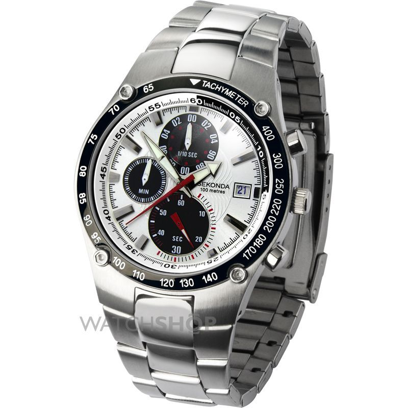 Mens Sekonda Chronograph Watch 3093