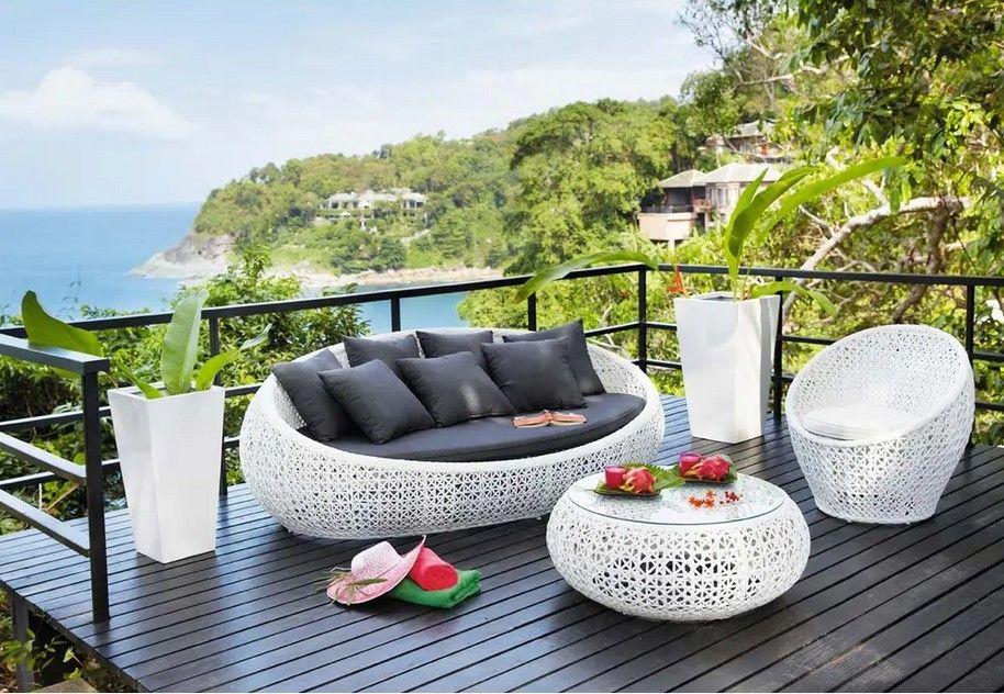 Canape De Jardin 3 Places Durban En Resine Tressee Blanc Soldes Canape De Jardin Maisons Du Monde Deco Maison Du Monde Canape Jardin Et Maison Du Monde