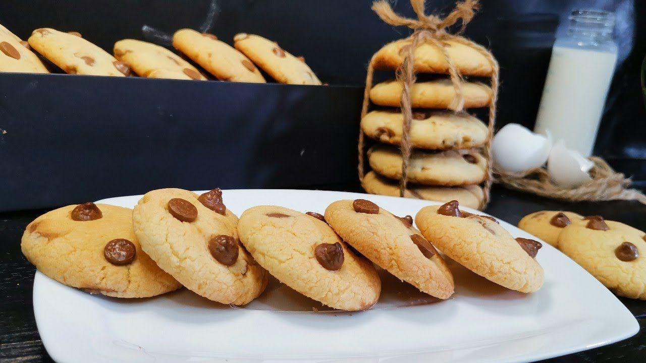 احلي كوكيز ممكن تاكليها بطريقة سهله وبسيطه جدا وناجح100 Angham Talaat