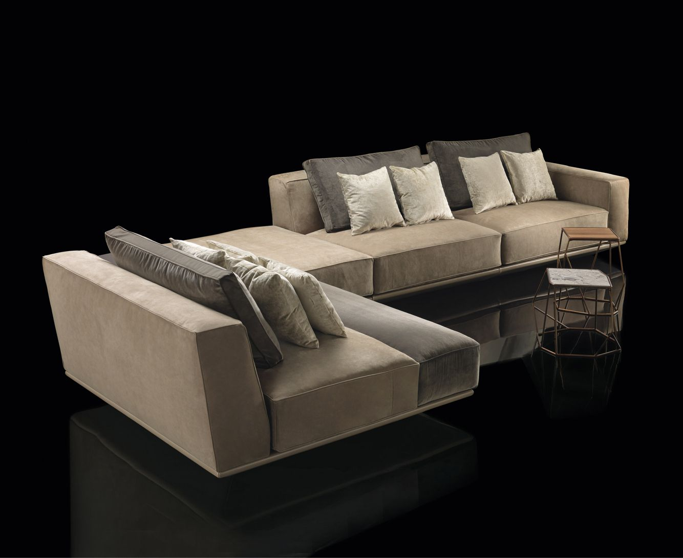 Flexsteel Sofa Henge made in Italy Hypnose sofa project by Massimo Castagna