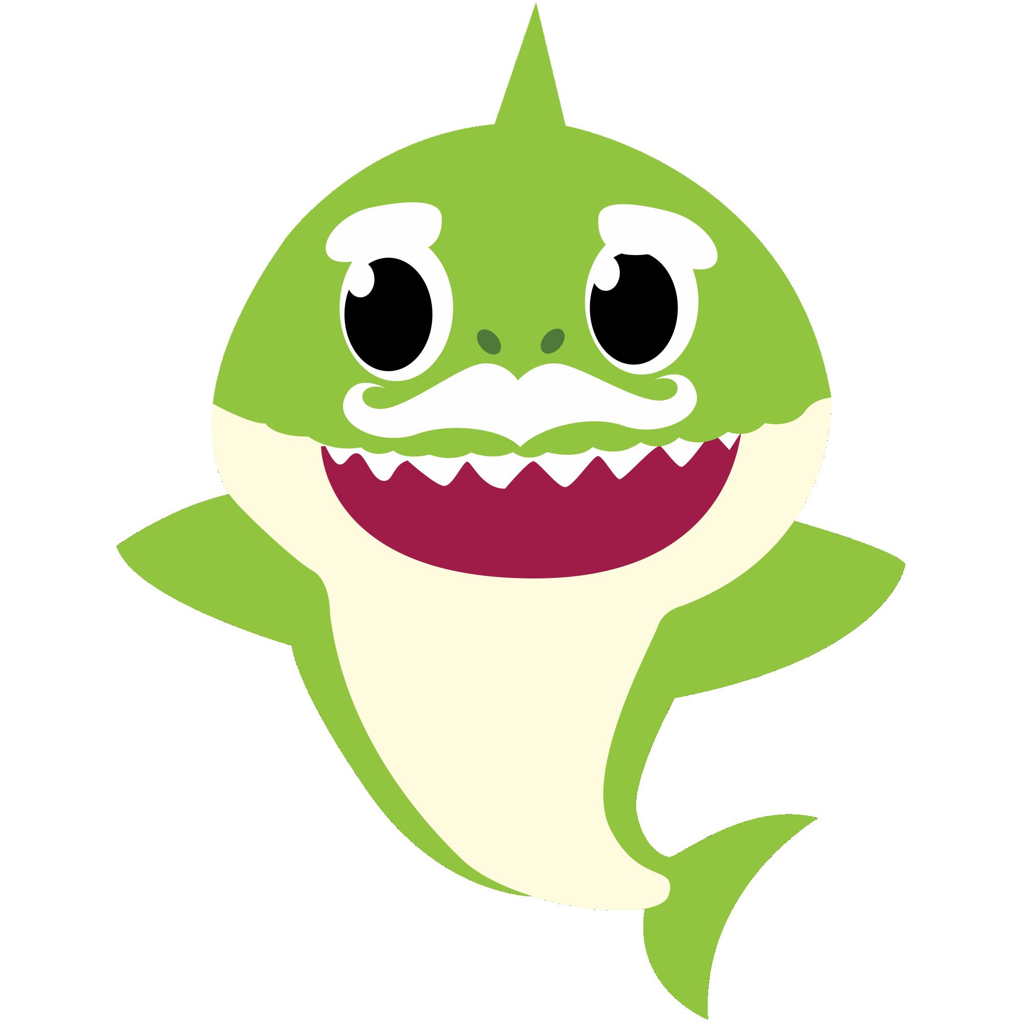 Grandpa Shark PNG 01 - Imagens PNG   Festa de tubarão ...
