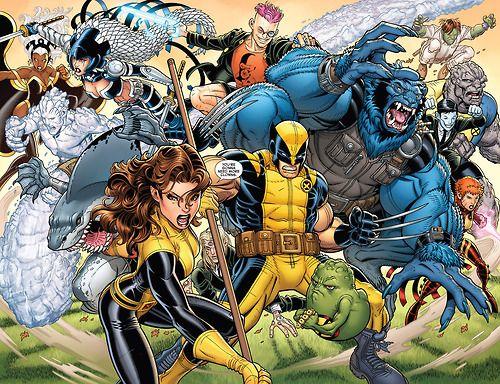 X Men To The Rescue Marvel Coloring X Men Comics