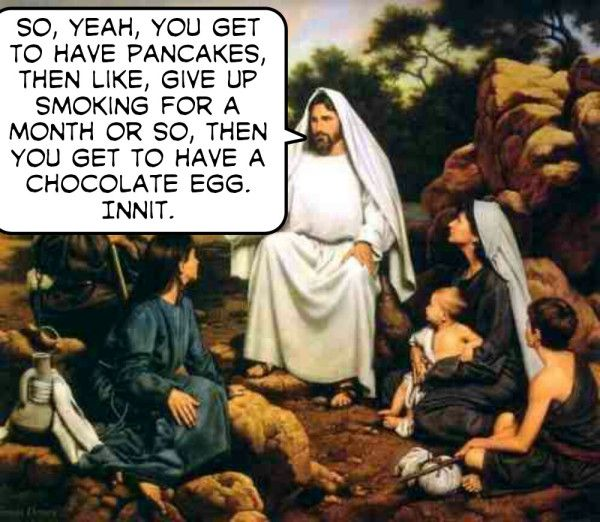 The true story of Lent