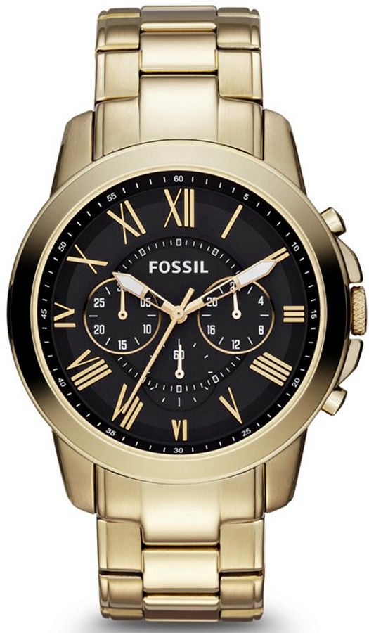 a3f47fe00 FS4815 - Authorized Fossil watch dealer - MENS Fossil GRANT, Fossil watch, Fossil  watches
