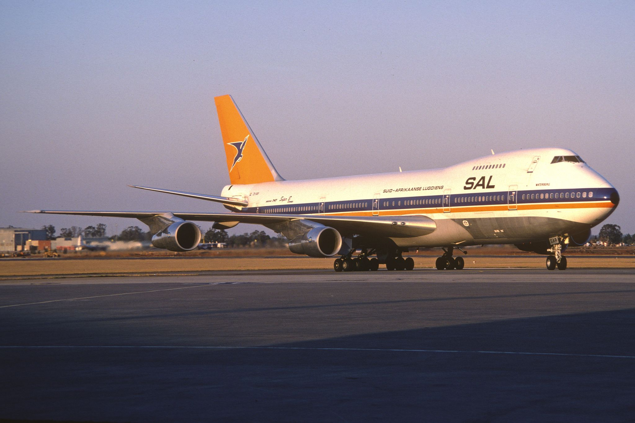 South African Airways Boeing 747 200 Zs Sar Sepember 1982 South African Airways Boeing 747 Boeing