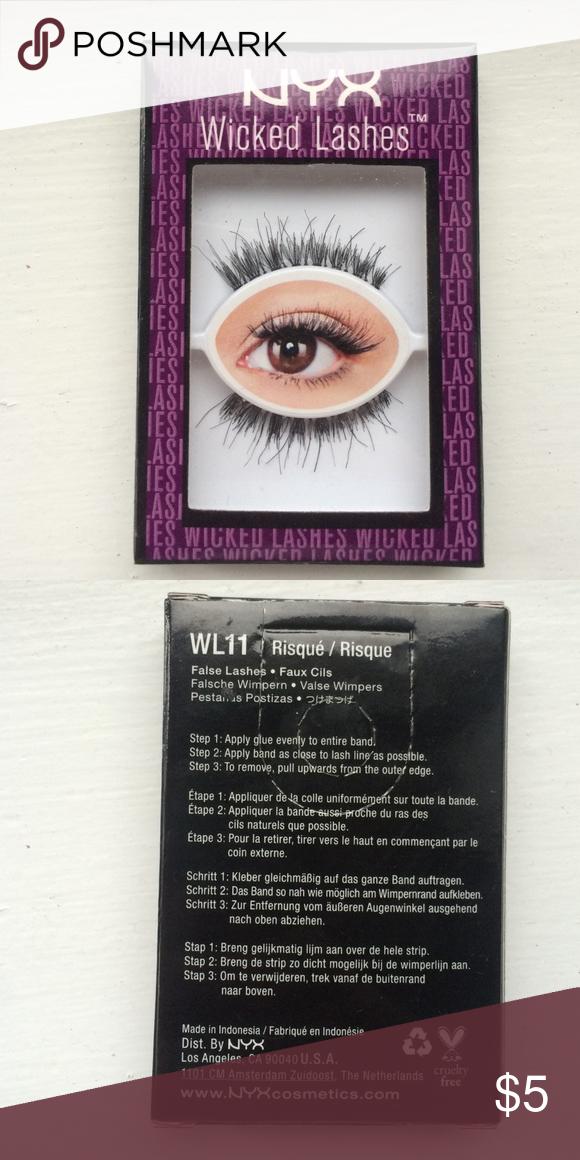 a0e4e699905 NYX false lashes NYX wicked false lashes. Never used and still packaged NYX  Makeup False Eyelashes