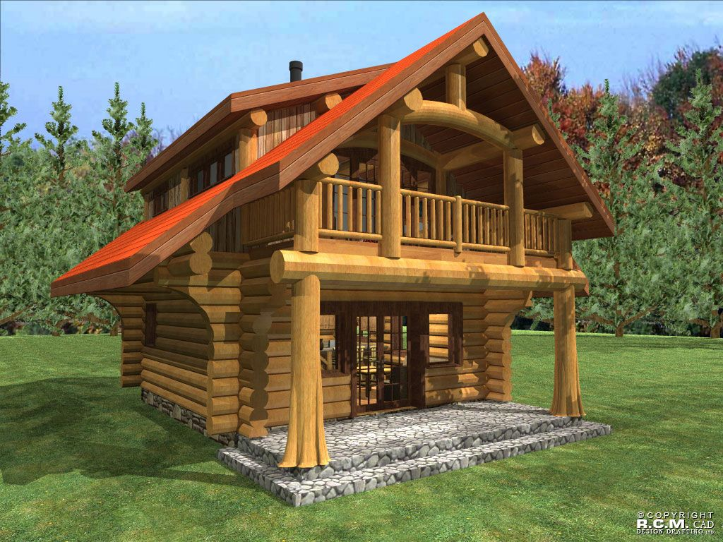 Anderson Custom Homes - log home cabin packages kits colorado ...