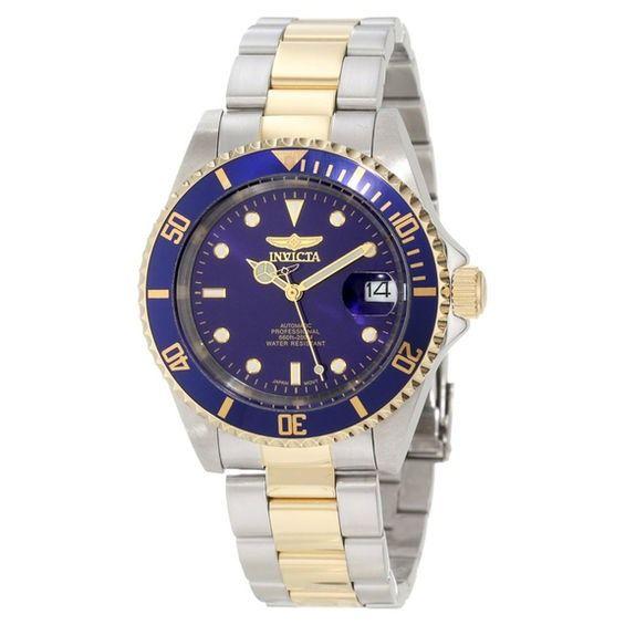 1b4f865e2a1 Men s Invicta Pro Diver Automatic Watch with Blue Dial (Model  89280B)
