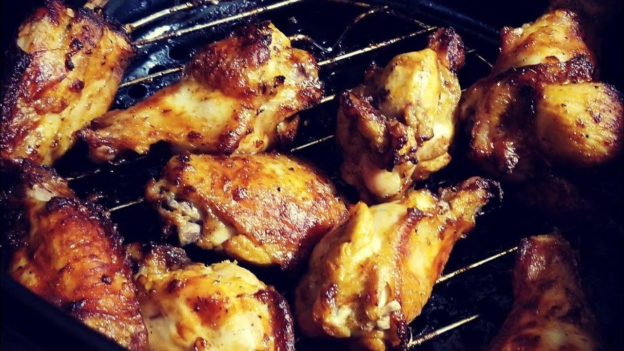 From Frozen Pre Seasoned Air Fryer Chicken Wings Cooks Essentials