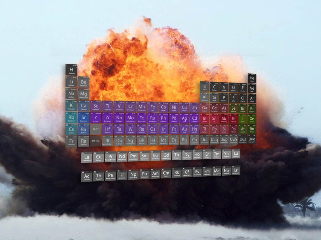 What If You Made An Actual Model Of The Periodic Table