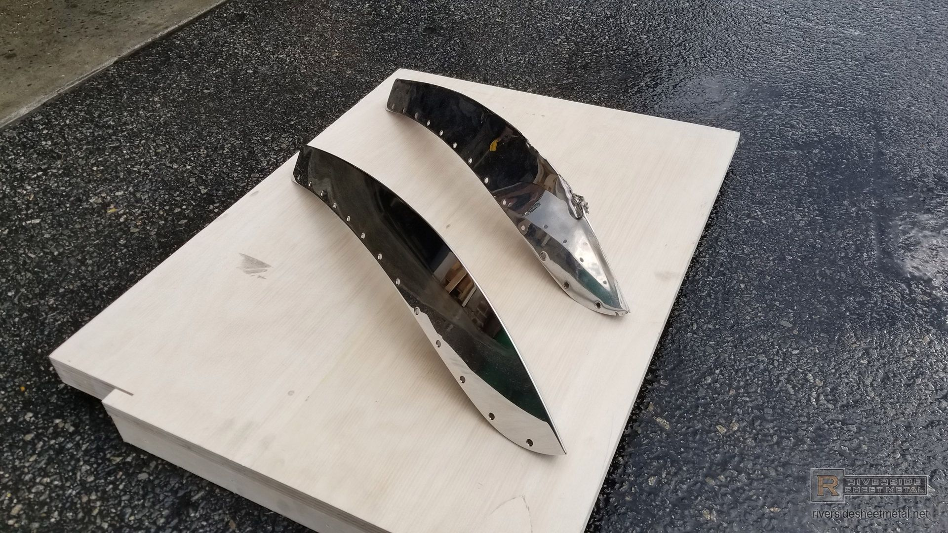 Stainless Steel Custom Boat Bow Guard Protection Riverside Sheet