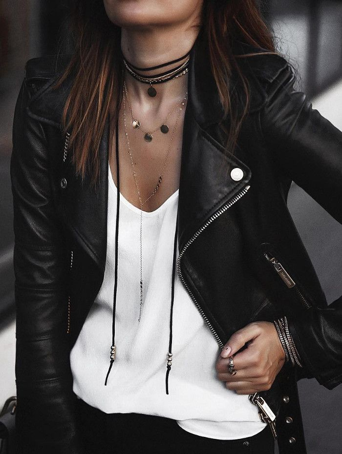 all about layering necklaces