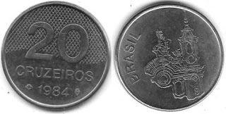 Pin De Patricia Lester Em Valuable Coins Moedas Brasileiras