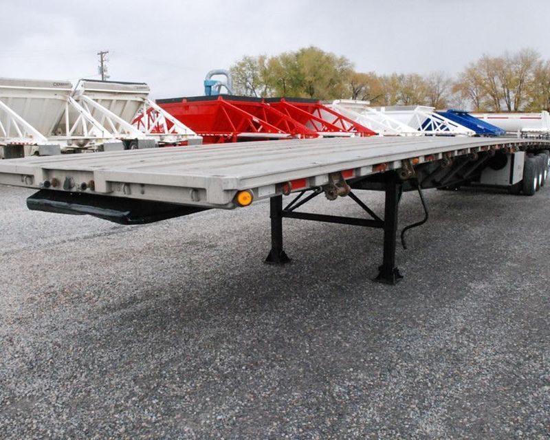 2000 Western 48' flatbed trailer in Salt Lake City, UT